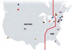 NHL Realignment Map - Week 16