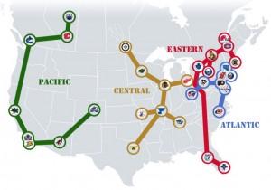 NHL Realignment Map - Week 29