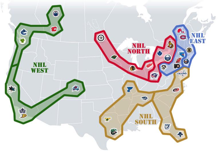 nhl realignment map week 31