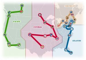 NHL Realignment Map - Week 41