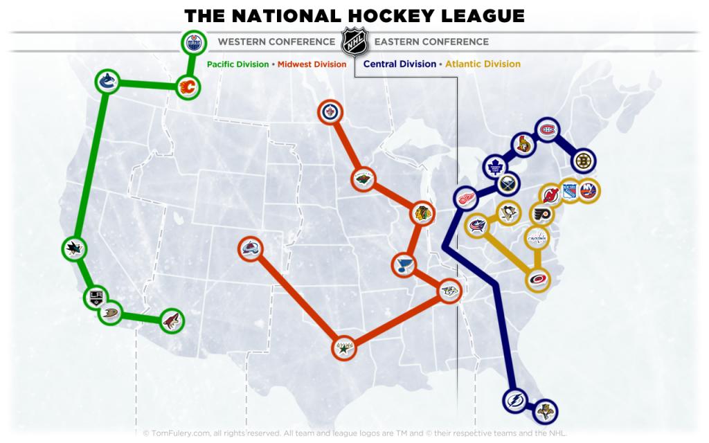 NHL Realignment 2013-14