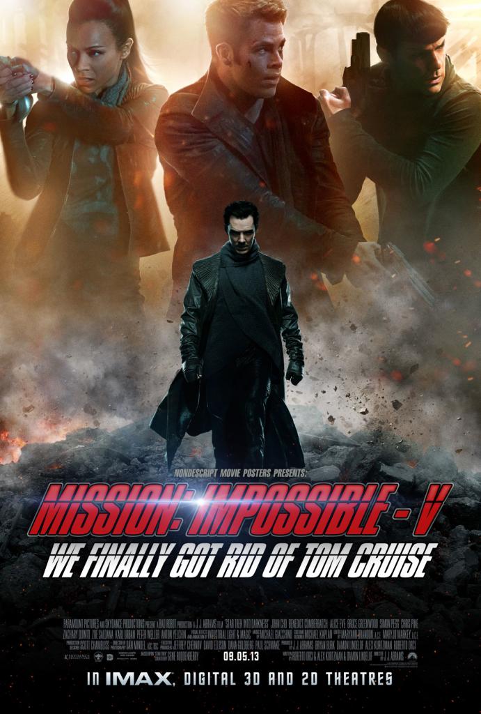 Nondescript Movie Posters - M:I 5